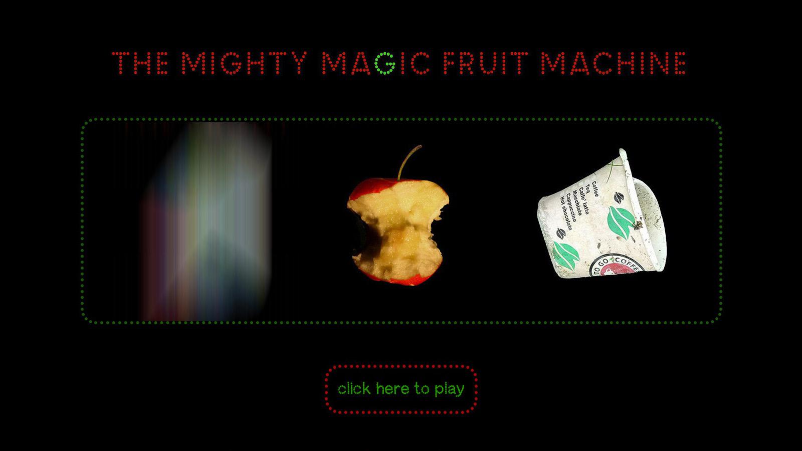 The Mighty Magic Fruit Machine